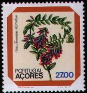 Azores 1982 Azores Flowers (2nd Issue) c