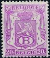 Belgium 1946 Coat of Arms - Official Stamps b.jpg