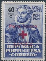 Portugal 1932 Red Cross - 400th Birth Anniversary of Camões b