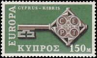 Cyprus 1968 Europa-CEPT c