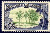 Mozambique company 1937 Assorted designs o