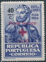 Portugal 1930 Red Cross - 400th Birth Anniversary of Camões a