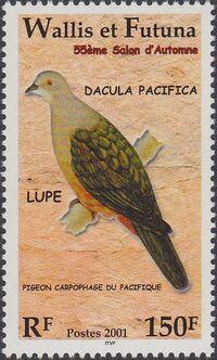 Wallis and Futuna 2001 55th Autumn Salon Birds a