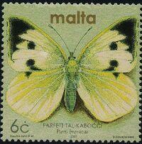 Malta 2002 Butterflies and Moths n