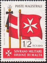 Sovereign Military Order of Malta 1967 Flags of Ancient Languages and from Order i