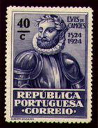 Portugal 1924 400th Birth Anniversary of Camões n