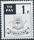 Gibraltar 1984 Postage Due Stamps a