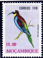 Mozambique 1978 Birds f
