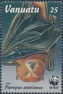 Vanuatu 1996 WWF Flying Foxes c