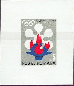 Romania 1971 Olympic Games Sapporo' 72 g