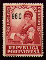 Portugal 1925 Birth Centenary of Camilo Castelo Branco t