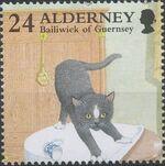 Alderney 1996 In Praise of the Cat b