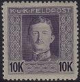 Austria 1917-1918 Emperor Karl I (Military Stamps) t.jpg
