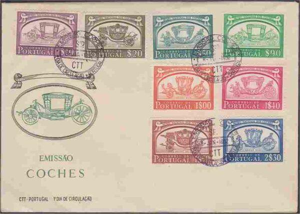 Portugal 1952 National Coach Museum i