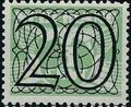Netherlands 1940 Numerals - Stamps of 1926-1927 Surcharged g.jpg