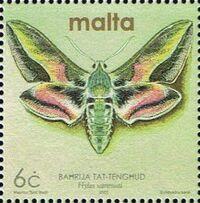 Malta 2002 Butterflies and Moths a