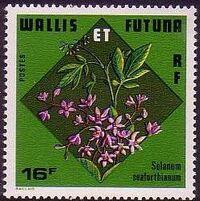 Wallis and Futuna 1978 Flowers a