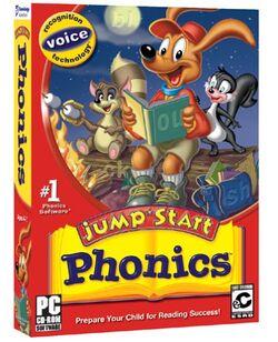 Jumpstart phonics 2003 boxart