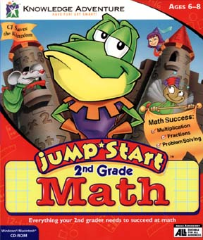 2nd Grade Math Cover