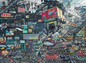 Mega-City Two IDW