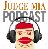 Judge Mia Podcast Logo