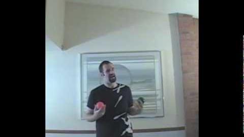 Shower pattern juggling tutorial
