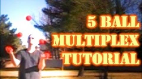 How To Juggle Basic 5 Ball Multiplex Tricks Juggling Tutorial by JugglingTricks