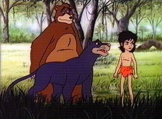 Mowgli, Baloo and Bagheera (Jetlag Productions)