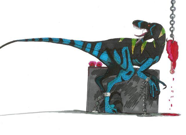 File:Jurassic Park Raptor Alpha by hellraptor.jpg