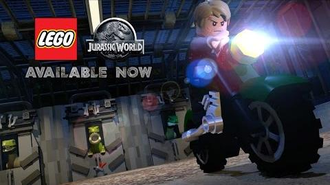 LEGO Jurassic World Game - Official Launch Trailer