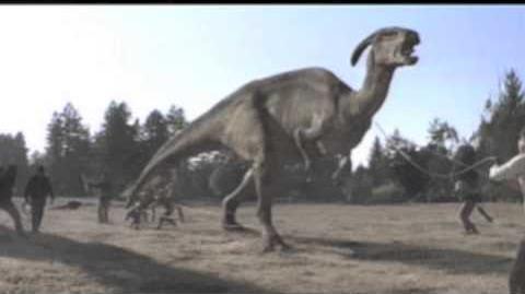 "Jurassic Park Parasaurolophus ""Elvis"" Sound Effects"