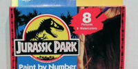 Jurassic Park: Paint by Number