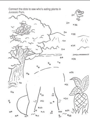 File:Jurassic Park A Big Color and Activity Book Connect the Dots Brachio.png