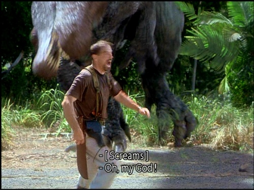 File:Cooper with a holstered pistol on his right thigh before the Spinosaurus grabs him..jpg