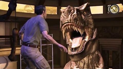 Jurassic Park The Game - T Rex Showdown