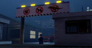 LEGO InGen Waterfront gate