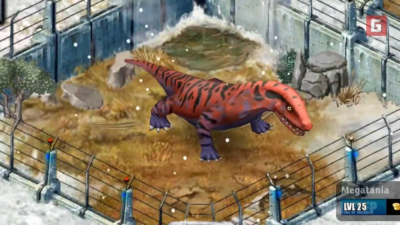 Megalania Jurassic Park Builder Megalania/Builder | Ju...