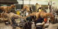The Lost World Raptor Practical Effects