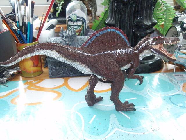 File:Custom JP 3 Papo Spinosaurus by hellraptor.jpg