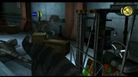 Jurassic Park The Game - Episode3 The Depths - Raptor Chase (Gold)