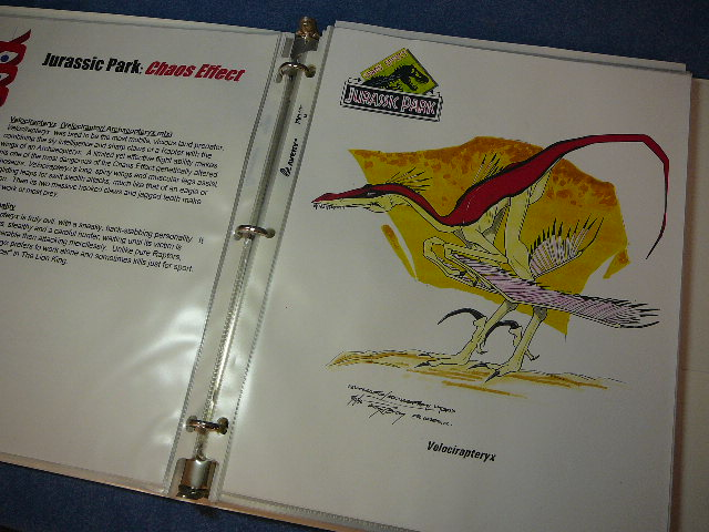 File:A raptor's razor claws, jagged spells and the flight capability of the Archaeopteryx combine.jpg