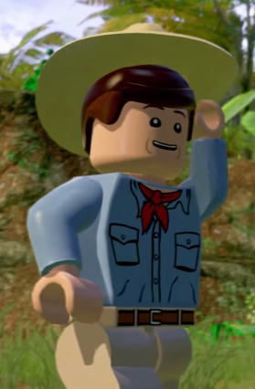 File:Lego Jurassic World Video Game Alan Grant.png