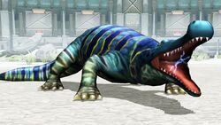 Deinosuchus Battle