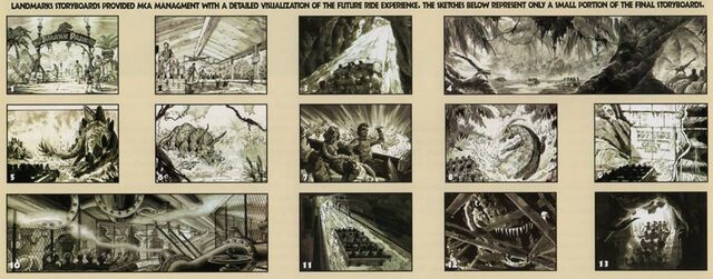 File:Jurassic Park the Ride storyboards.jpg
