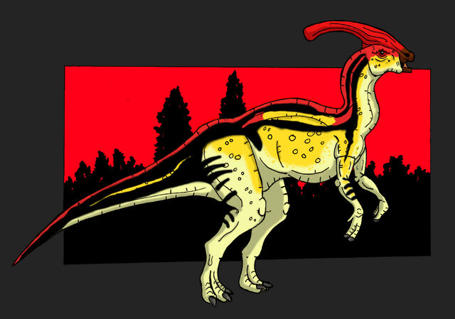 File:Jp parasaurolophus walkeri by hellraptor-d60extb.jpg