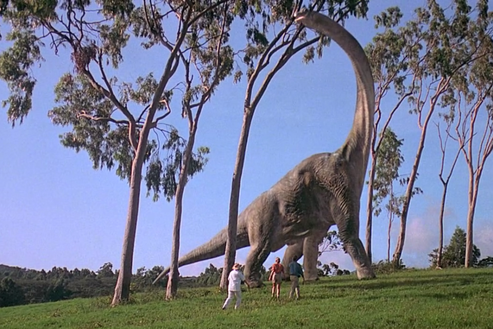Image result for brachiosaurus jurassic park
