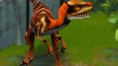 Jurassic Park Builder - Velociraptor Jurassic Park