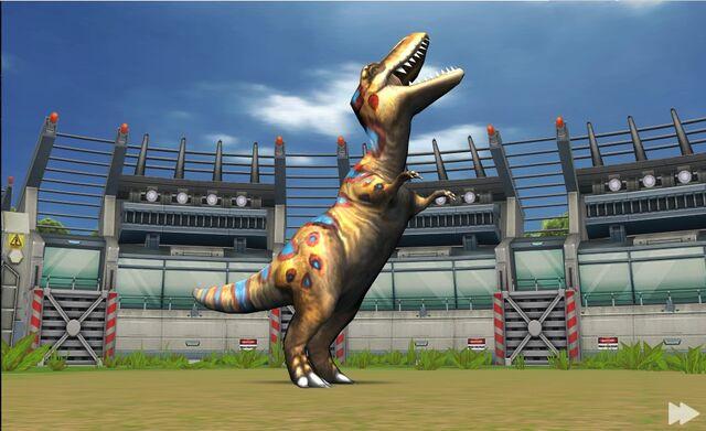 File:Jurassic Park Builder Battle Arena Albertosaurus1624 Nov. 03, 2015.jpg