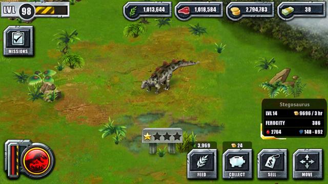 File:Jurassic Park Builder Game Pictures Dinosaurs Stegosaurus Levels 14.png