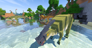 Parasaur herd 1